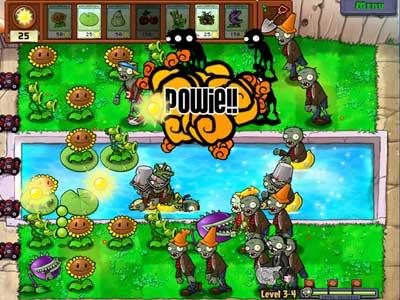 Plants vs. Zombies - juego GRATIS en www.jugarmania.com