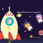 GEORGE'S SPACE ADVENTURE – Peppa Pig