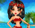 Hawaiian Girl Dress Up