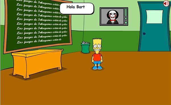 Bart Saw Game 2 Juego Gratis En Jugarmania Com