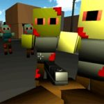MINECRAFT ZUMBI BLOCKS 3D