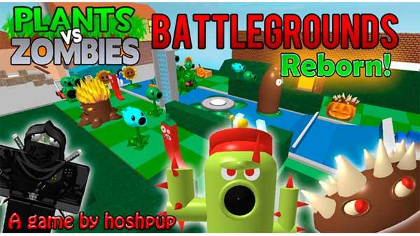 Roblox Plants Vs Zombies Battlegrounds Juego Gratis En Jugarmania Com