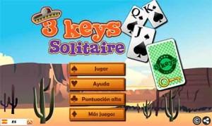 Imagen 3 Keys Solitaire