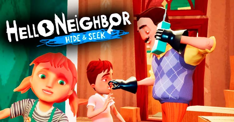 Imagen HELLO NEIGHBOR HIDE AND SEEK