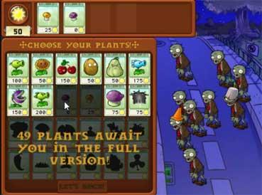 Imagen Plants vs. Zombies