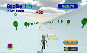 Imagen Ski Sim Cartoon