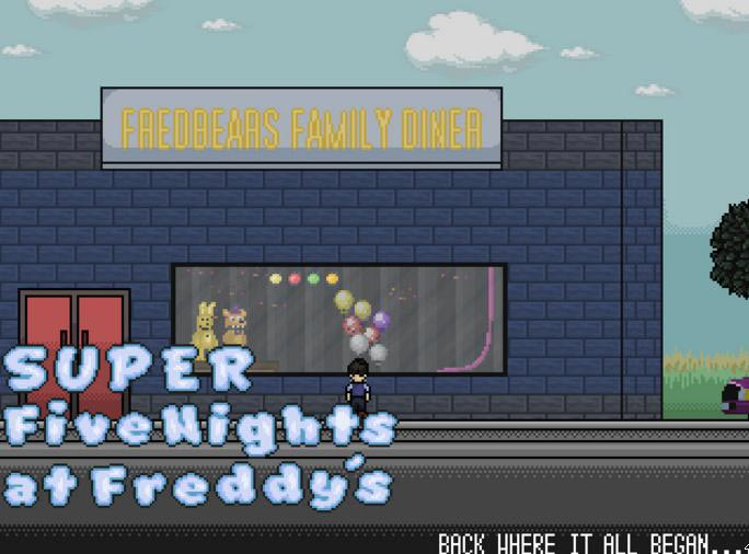 Imagen SUPER FIVE NIGHTS AT FREDDY'S