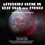 Asteroid in less than 100 events