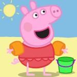 COLOREAR A PEPPA PIG – EN LA PLAYA