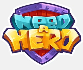 need-a-hero-logo-jugarmania