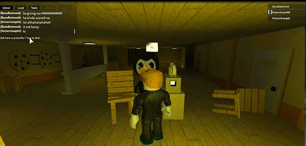 """Juega GRATIS a ROBLOX: Bendy And The Ink Machine"""" class="""