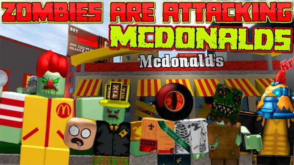 "Juega GRATIS a ROBLOX: Zombies Are Attacking McDonalds"" class="