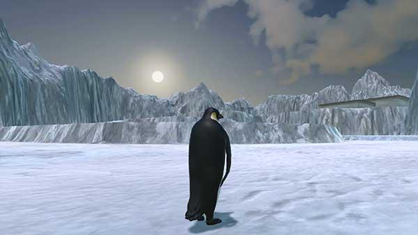 The Littlest Penguin (3D) - juego GRATIS en www.jugarmania.com