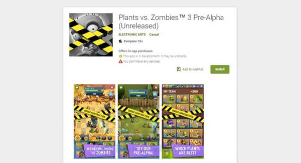 "Juega GRATIS a PLANTS vs ZOMBIES 3 (Pre-Alpha)"" class="