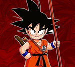 Dragon Ball Goku Fierce Fighting