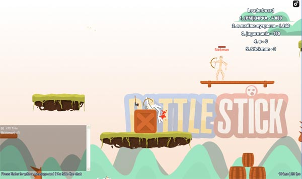 Imagen BATTLESTICK - The Stickman Multiplayer Fighting Arena