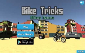 Imagen Bike Tricks Military Madness