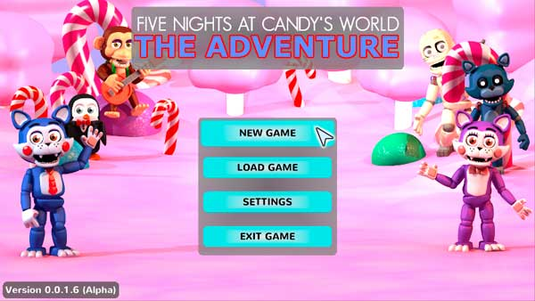 Imagen FIVE NIGHTS AT CANDY'S WORLD - The Adventure