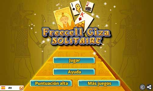 Imagen Freecell Giza Solitaire
