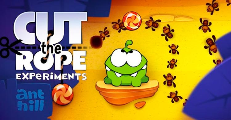 Imagen Cut the Rope Experiments