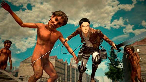 Imagen ATTACK ON TITAN 2 Online