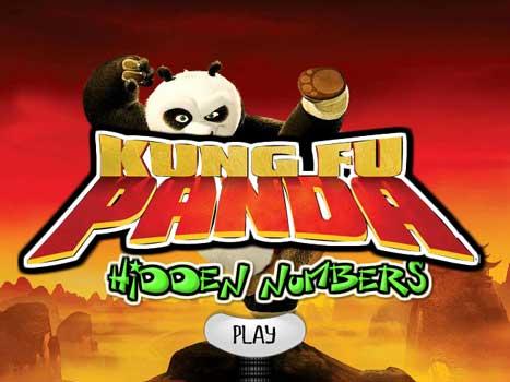 Imagen Kung Fu Panda - Hidden Numbers