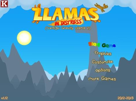 Imagen Llamas in Distress