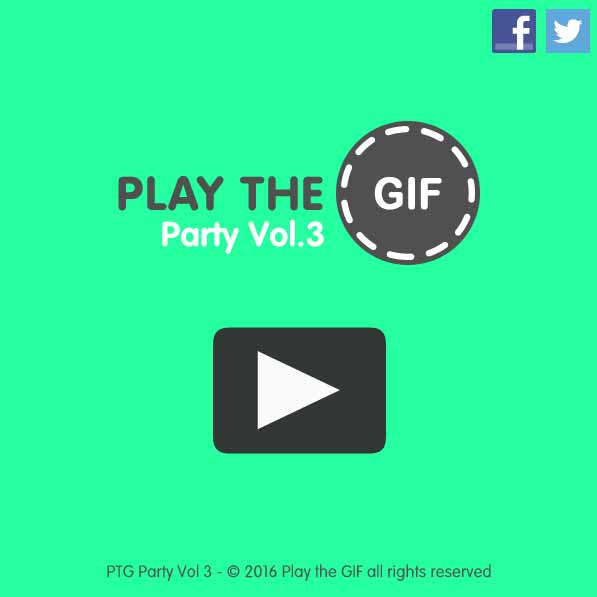 Imagen PLAY THE GIF Party Vol.3