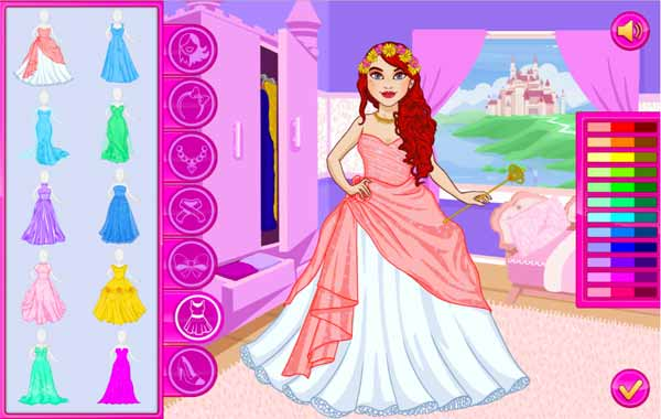 Imagen Princess Fashion Dress Up