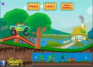 Imagen Smurf Monster Truck Challenge