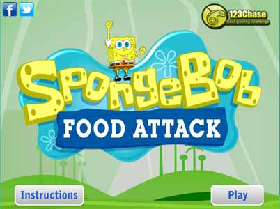 Imagen Spongebob Food Attack