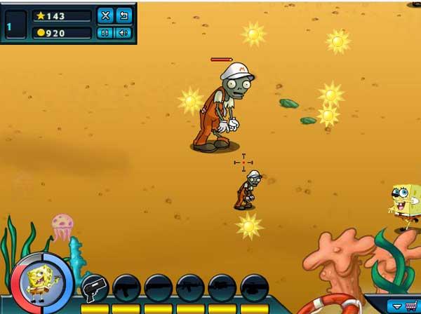 Imagen Spongebob VS Zombies