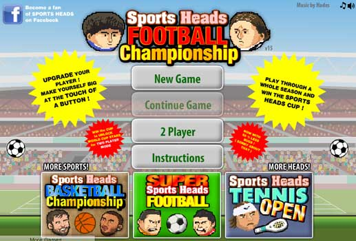 Imagen Sports Heads: Football Championship