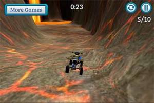Imagen Stunt Racer Volcano Escape