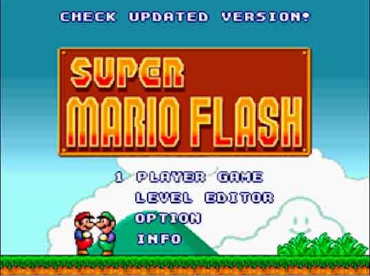 Imagen Super Mario Flash