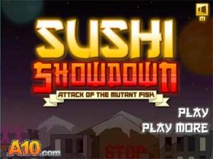 Imagen Sushi Showdown: Attack of the Mutant Fish