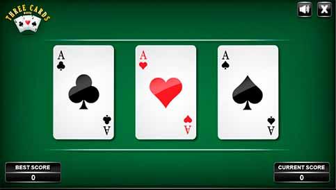 Imagen Three Cards Monte