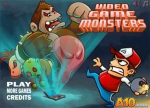 Imagen Video Game Monster