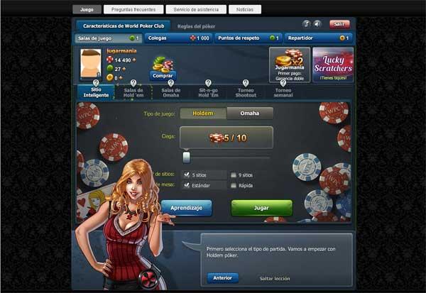 Imagen World Poker Club